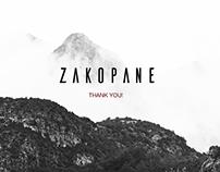 ZAKOPANE - landing page