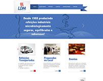 LDM Refeições - 2012