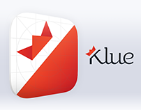 Branding, Application and Website design. Klue