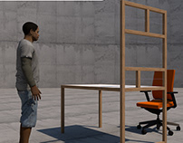 998_Design | Furniture, Frame Table