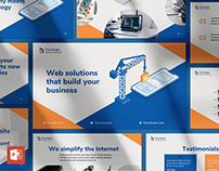 Web and Mobile App Development PowerPoint Presentation