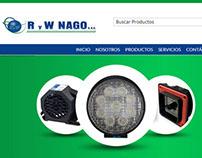 Diseño Web Catálogo Nago