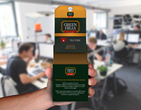 Green Hills Tea Packaging Concept