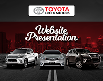 Toyota Creek | Web Design Portfolio