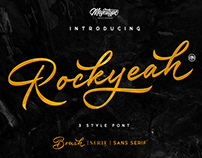 Rockyeah Typeface