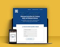 Cinda | Design web
