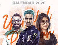 Youthful Pakistan Calendar Design