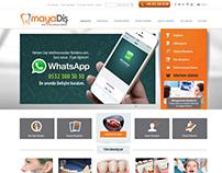 Maya Diş Web Sitesi Tasarımı