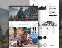 Hey Dude Shoes Website Development