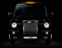 London Taxi goes CG