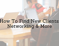 How to Find New Clients: Networking & More