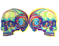 skulls skulls skulls illustrations