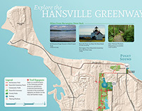 Hansville Greenway Trail Map