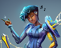 Character Design: Futuristic Hero