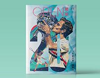 OPEN 網球 第二刊|雜誌設計