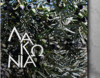 LAKONIA olive oil logo - school project