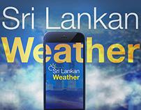 Sri Lankan Weather App Design