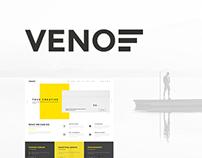 Veno - Portfolio PSD Template