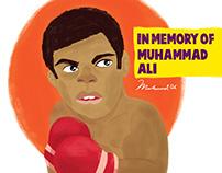 In Memory Of Muhammad Ali