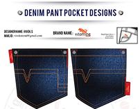 DENIM PANT POCKET DESIGNING