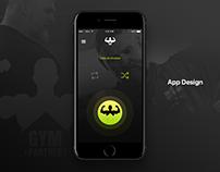 Gym Partner - App Design Concept