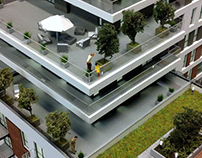 APARTMENT BUILDING ILUMINO//ŁÓDŹ - POLAND