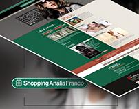 Site - Shopping Anália Franco
