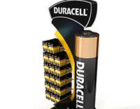 Duracell Display Stand 100x80x230cm