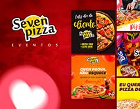 Social Media Seven Pizza Eventos