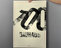 BAUHAUS 100 International Poster Campaign