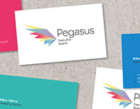 Pegasus Executive Search Branding and Web design
