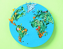 Planet Earth | Paper art