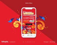 Coca Cola Microsite