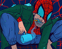PETER B. PARKER   #Spiderverse