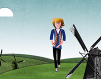 ZonMw - character animation (2015)