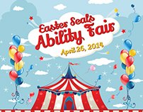 Easter Seals Ability Fair Event Flyer & Facebook Ads