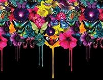 Floral Melt Print