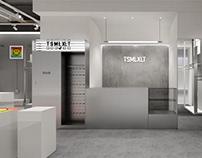 哈喽设计 | TSMLXLT潮流服装店空间设计
