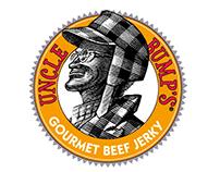 Uncle Bump's Gourmet Beef Jerky Logo