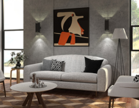 Furniture presentation.