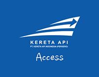 Kereta Api Access Redesign Concept