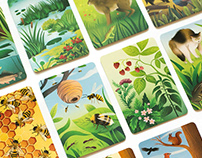 """Polish Nature"" Card Game"