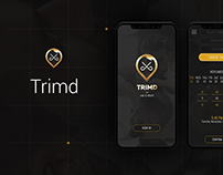Trimd Barber's App !