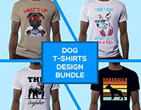 Dog T-shirtDesign Bundle