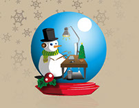 - Snowman / Chistmas 2012 -