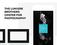 Lumiere Brothers Center for Photography iOS Application