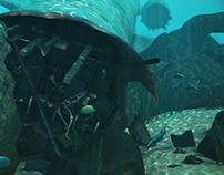 Aircraft Underwater