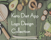 Keto Diet App | Software Logo | Logo Design Collection