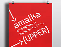 Amalka font