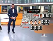 TN Vespre - Jihadistes Atemptat Catalunya